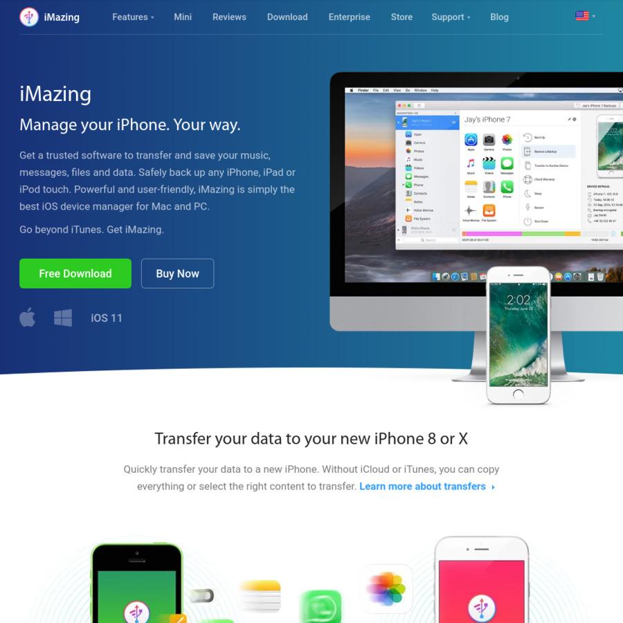 iMazing iOS Device Backup Software for Mac/Windows $19 99