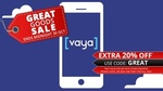 Groupon 20% off Selected Goods: Vaya Mobile Unlimited Calls/Text + 1.5GB Data 4 Months for $8 ($2 Per Month) @ Groupon