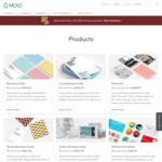 30% off @ MOO (Business Cards, Postcards, Stickers, Labels etc)