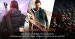 Quantum Break,The Long Dark, and Warhammer 40,000™: Dawn of War® III  + Mystery Games for US $12 (~AU $15.5) @ Humble Bundle