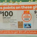 Bonus Rewards Points with Selected Accor, Event, Ticketmaster etc. Gift Cards, 20% off Vodafone Recharges @ Woolworths