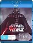 Star Wars Episode I-VI Blu-Ray 9 Disk Set $80 Delivered @ Amazon AU