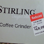 [NSW] Stirling Designer Collection Coffee Grinder $49.99 ($30 off) @ ALDI (Southpoint Shopping Centre - Hillsdale)
