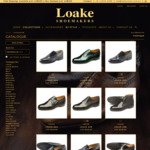 Loakes Shoes 10% off Entire Order: Goodyear Welted Full Leather Shoes from $159 + Shipping, Free Shipping over $200