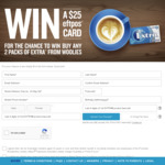 Win a Share of $55,000 Worth of EFTPOS Gift Cards from The Wrigley Company [Purchase Chewing Gum]