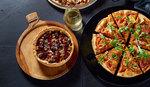 Free Dessert Pizza with Online Purchase of Large Gourmet or Upper Crust Pizza with Debit MasterCard @ Crust Pizza