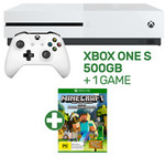 Xbox One S 500GB Console Bundle (Assassin's Creed Origins, Minecraft or Forza Horizon 3) $246.15 Delivered @ EB Games eBay