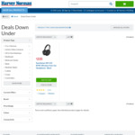 Harvey Norman Down Under Deals - Sennheiser HD4.50 $235 ($328 RRP), Swann DVR4-1580 $196 ($399 RRP)
