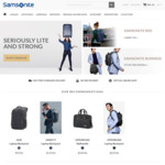 40% off Business & Ladies Ranges at Samsonite