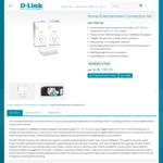 D-Link Home Entertainment Connection Kit DKT-P601AV $67.00 (RRP $199.00) @ Officeworks, in-Store Only