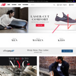 50% off New Balance in-Store (On Full Priced Items) and Online Free Shipping over $100