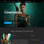 Win 1 of 10 Tomb Raider Home Entertainment Merchandise Packs Worth $179.95 from Roadshow