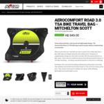 Scicon AeroComfortT Road 3.0 TSA Bike Travel Bag - Mitchelton Scott - $664.30 (30% off) Delivered @ Scicon Bags