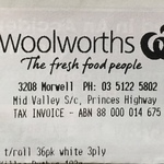 Quilton Toilet Tissue 36pk $10.80 @ Some Woolworths Stores