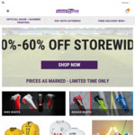 20%-60% off Everything, Premier League 2018/19 Kits, Adult - $87.95, Youth - $71.95, 2017/18 Kits from $23.95 @ Football Galaxy