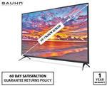 """Bauhn 55"""" 4K UHD Smart TV with HDR $579 @ ALDI"""