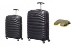 Samsonite Lite-Shock 2 Piece Set (55cm and 81cm) Plus Pillow $601.18 and Free Delivery @ Luggage Gear