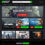 [PC, Steam] Square-Enix Promotion - Just Cause 3 US $3.57 (~AU $5), Nier Automata US $27 (~AU $37.84) + More @ Green Man Gaming