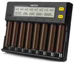 Miboxer C8 8 Slots Rapid Smart AA AAA 18650 Battery Charger AU $48.16 Shipped @ Banggood