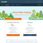 91% off Australian cPanel Web Hosting for 1 Year @ Zuver