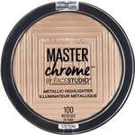 Maybelline Master Chrome Highlighter $12 (Was $20) @ Woolworths