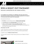 Win an Exclusive Night out Package in Melbourne Worth $760 from Malthouse Theatre & Art Series Hotels [No Travel]