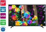 "Kogan 55"" 4K LED TV (Series 8 JU8000) - $399 + Delivery @ Kogan"