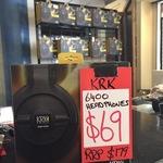 [VIC] KRK KNS 6400 Studio Headphones $69 (or Lower) @ Allans Billy Hyde, Melbourne