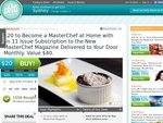 $20 for an 11-Issue Subscription to MasterChef Magazine - National