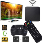 Android 7.1 Smart TV Box (Amlogic S905W, 1GB / 8GB) with Wireless I8 Keyboard $16.99 (AU $24.64) @ Coolicool