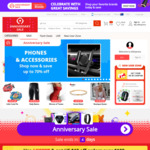 $6 US off Orders over $7 US ($8.49 AU off Orders over $9.90 AU) @ AliExpress (New Accounts)