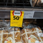 [NSW] All Hot Cross Buns $0.50 @ Coles (Rose Bay)