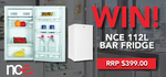 Win an NCE 112L Bar Fridge Worth $399 from Parable Productions