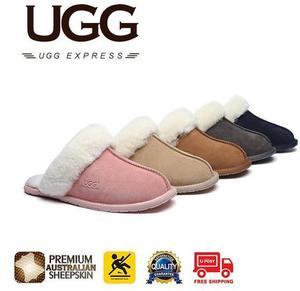 f47434160e1 UGG Slippers, Australia Premium Sheepskin, Unisex Rosa Scuff $28 ...