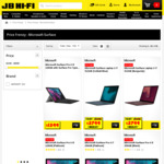 15% off Microsoft Surface Pro 6 and Microsoft Laptop 2 @ JB Hi-Fi