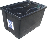 Award 50L Black Storage Container with Lid and Wheels, $5.93 @ Bunnings in Store Only