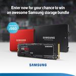 Win a Samsung SSD Bundle Worth Over $1,000 from Scan