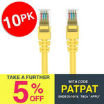 10x Belkin 2m Yellow CAT6 Ethernet Network Cables $15.01 + $8.95 Delivery (Free with eBay Plus) @ 247deals_au eBay