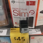 Seagate Backup Plus 1TB Slim $45 (from $79) @ Target Bourke St Melbourne (In Store)