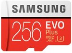Samsung EVO Plus Memory Card 256GB 100MB/s - US $38.49 (~AU $57.35) Delivered @ Joybuy