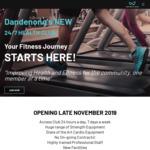 [VIC] Foundation Gym Memberships $7.99 Per Week (Normal Price $11.99 Per Week) @ Infinity Gym Dandenong