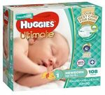 Huggies Ultimate Size 1 Nappies 108pk $21.99 (C&C or Free eBay Plus Delivery) @ Baby Bunting eBay