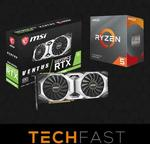 CPU/GPU Bundle: AMD Ryzen 5 3500X & MSI RTX 2080 Super Ventus OC Bundle: $1199 Delivered ($1170 + $29 Delivery) @ Techfast