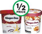 ½ Price Häagen-Dazs Ice Cream 457ml Tubs $5.75 @ Woolworths