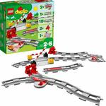 LEGO 10882 Duplo Train Tracks Building Blocks $15.20 + Delivery ($0 with Prime/ $39 Spend) @ Amazon AU