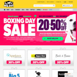 20-75% off Select Products (Black Hawk, MFM, Fuzzyard, Kong, etc) + Free Delivery Over $49 @ My Pet Warehouse