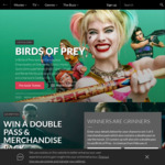 Win 1 of 5 Birds of Prey Prize Packs Worth $115.50 or 1 of 15 Double Passes to Birds of Prey from Roadshow