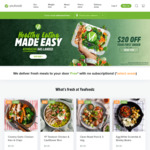 $30 off $89 Spend @ Youfoodz