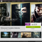 [PC] Dishonored: Complete Collection $29.75 at gog.com