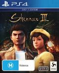 [PS4] Shenmue 3 Day One Edition $29 + Delivery (Free with Prime/ $39 Spend) @ Amazon AU